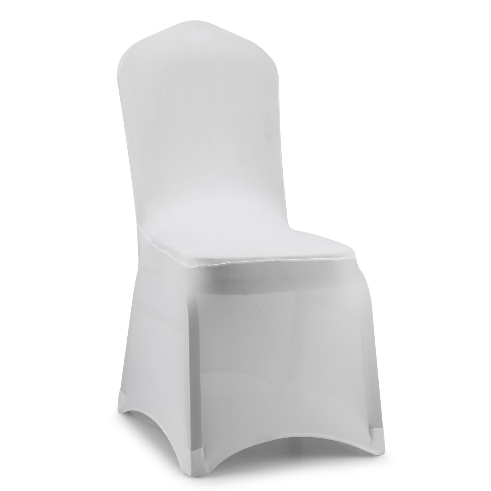 Spandex Lycra Black White Dinning Wedding Chair Covers Banquet Reception Part