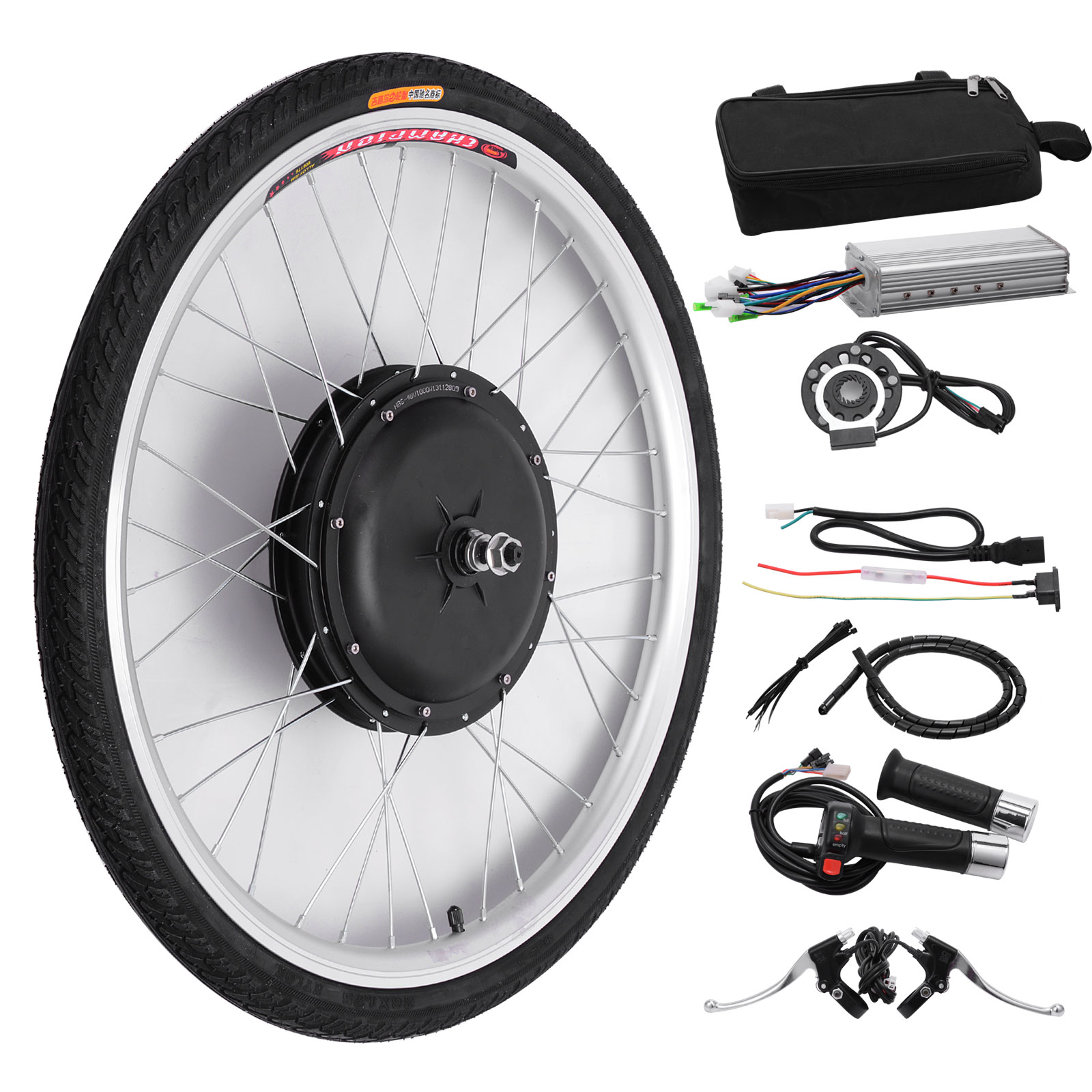 New 26 front wheel 36v 500w electric bicycle motor kit for 500w hub motor kit