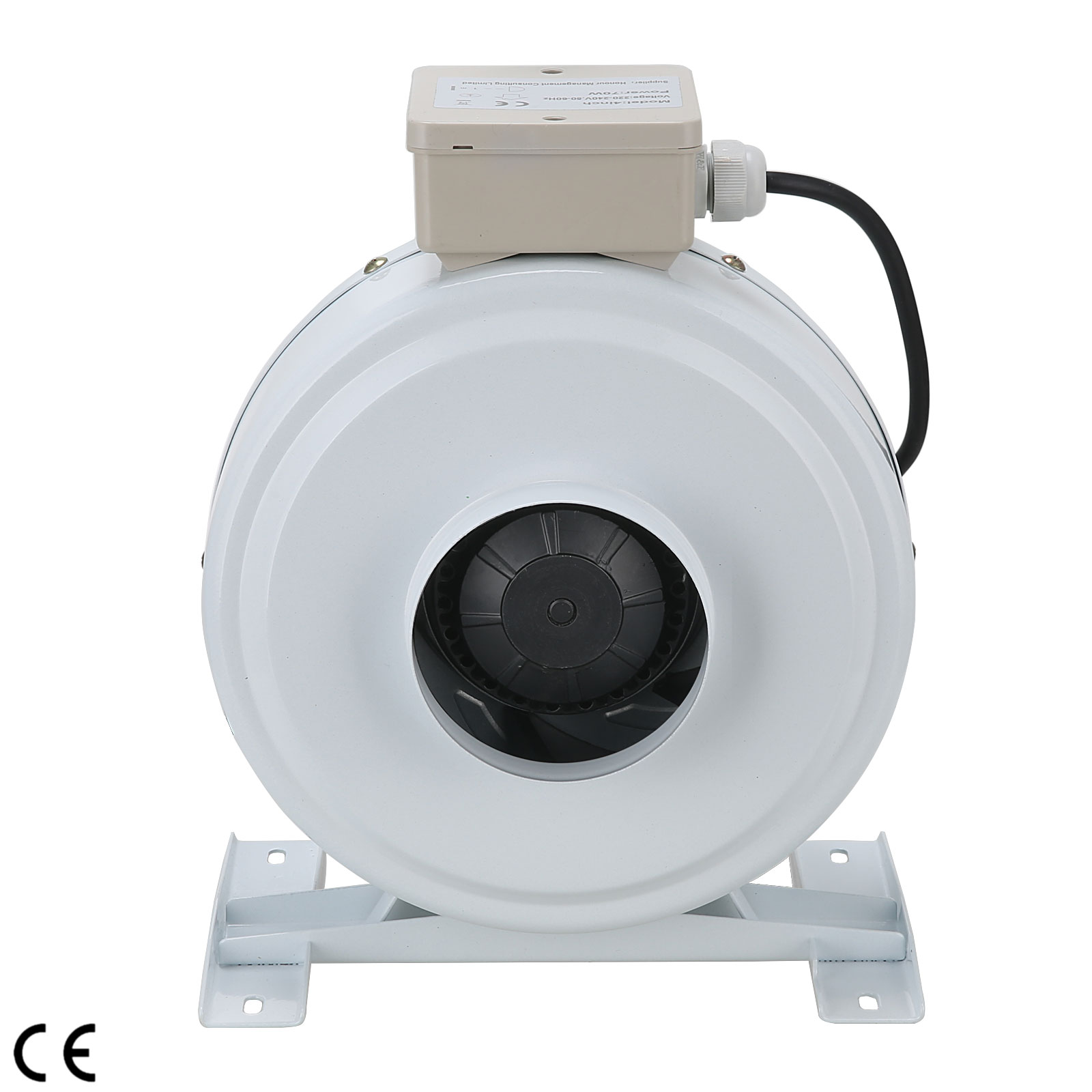 Room Vent Fans : Quot fan inline centrifugal exhaust vent blower hydroponics