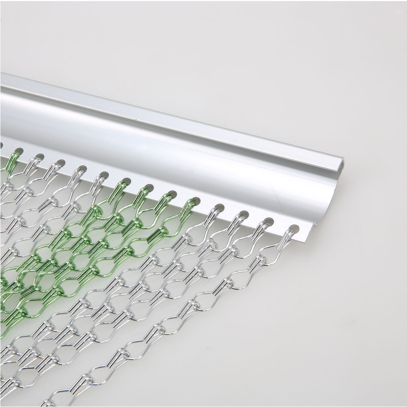 New Aluminium Chain Strip Link Curtain Fly Pest Bug Door
