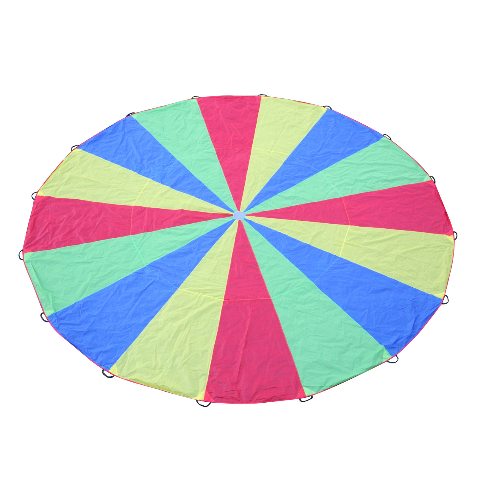 kids play parachute 6m large children rainbow outdoor game