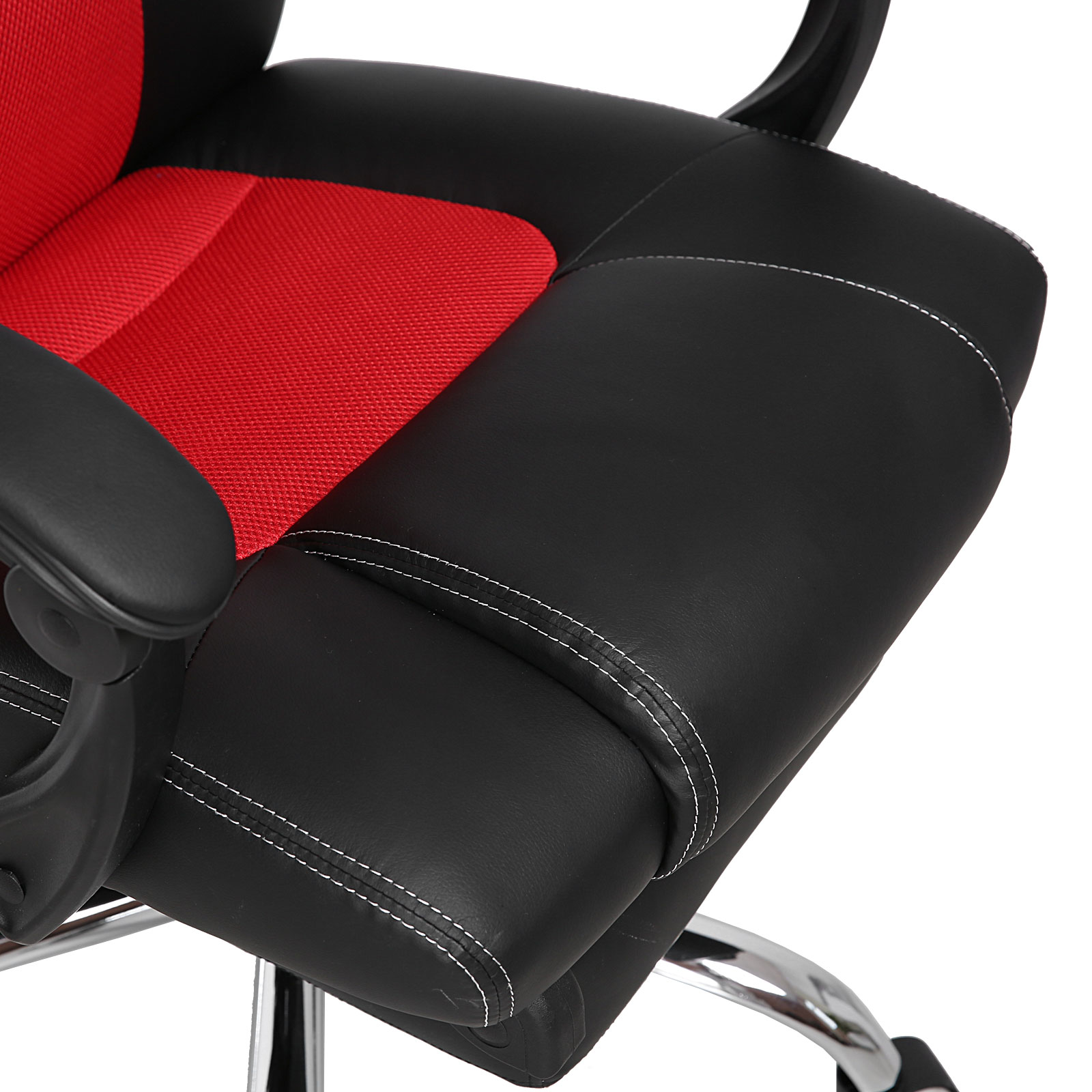 racing office chair high back gaming car style executive reclining bucket seat ebay. Black Bedroom Furniture Sets. Home Design Ideas