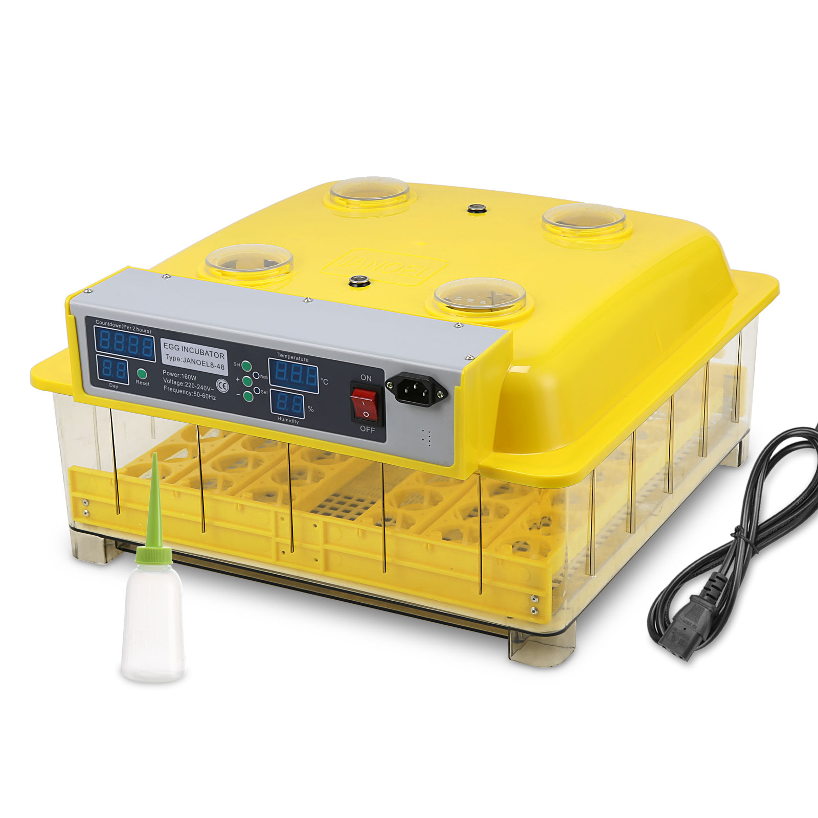 Digital poultry egg incubator for hatching chicken duck goose ebay