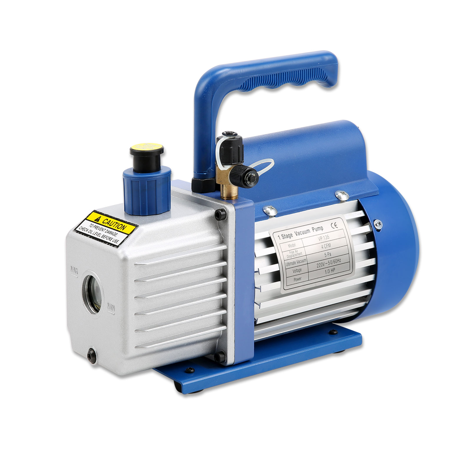 #19407B New 4CFM 1/3HP Single Stage Vacuum Pump Air Conditioning  Brand New 10091 Air Condition Pump images with 1600x1600 px on helpvideos.info - Air Conditioners, Air Coolers and more