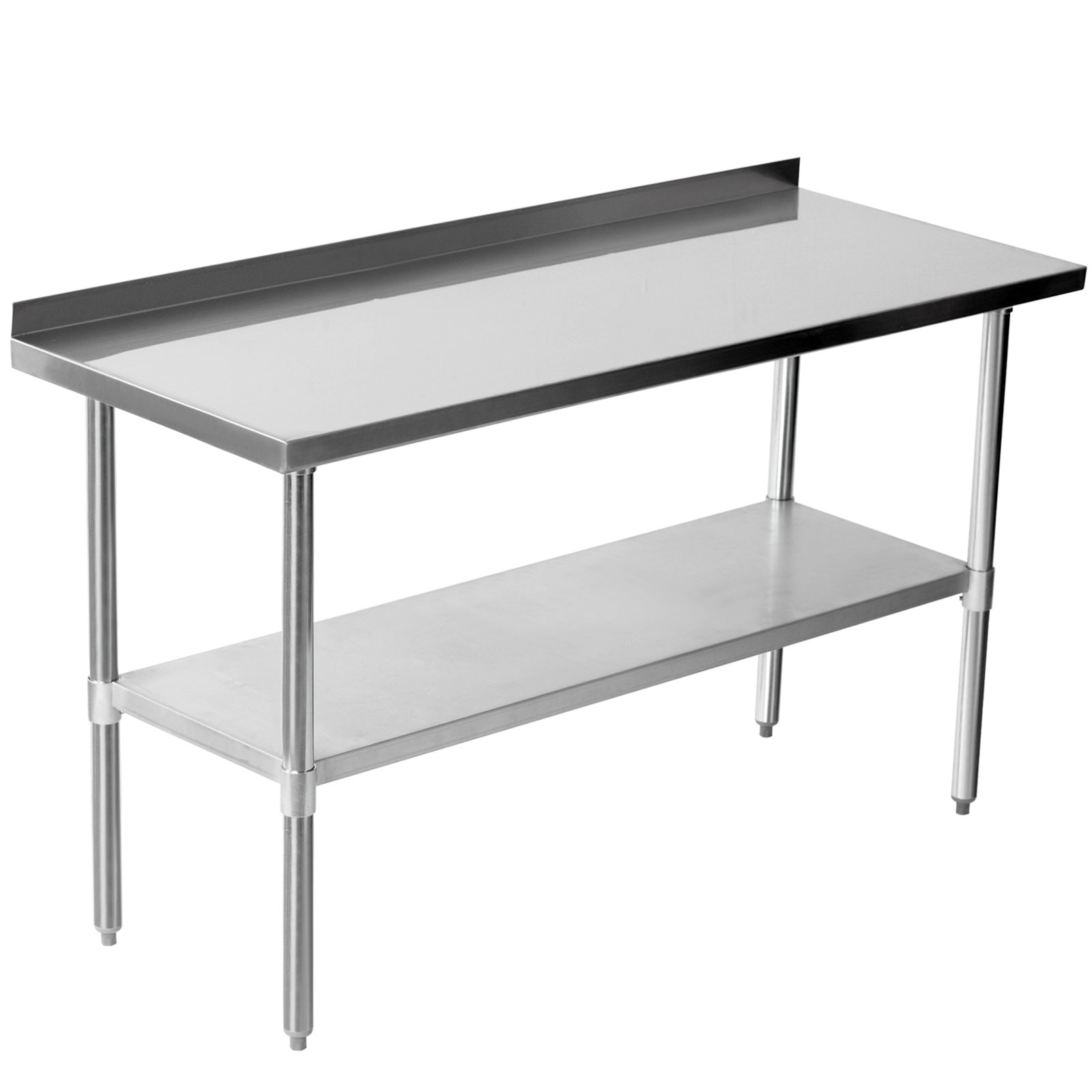 mercial stainless steel work bench kitchen catering table shelf