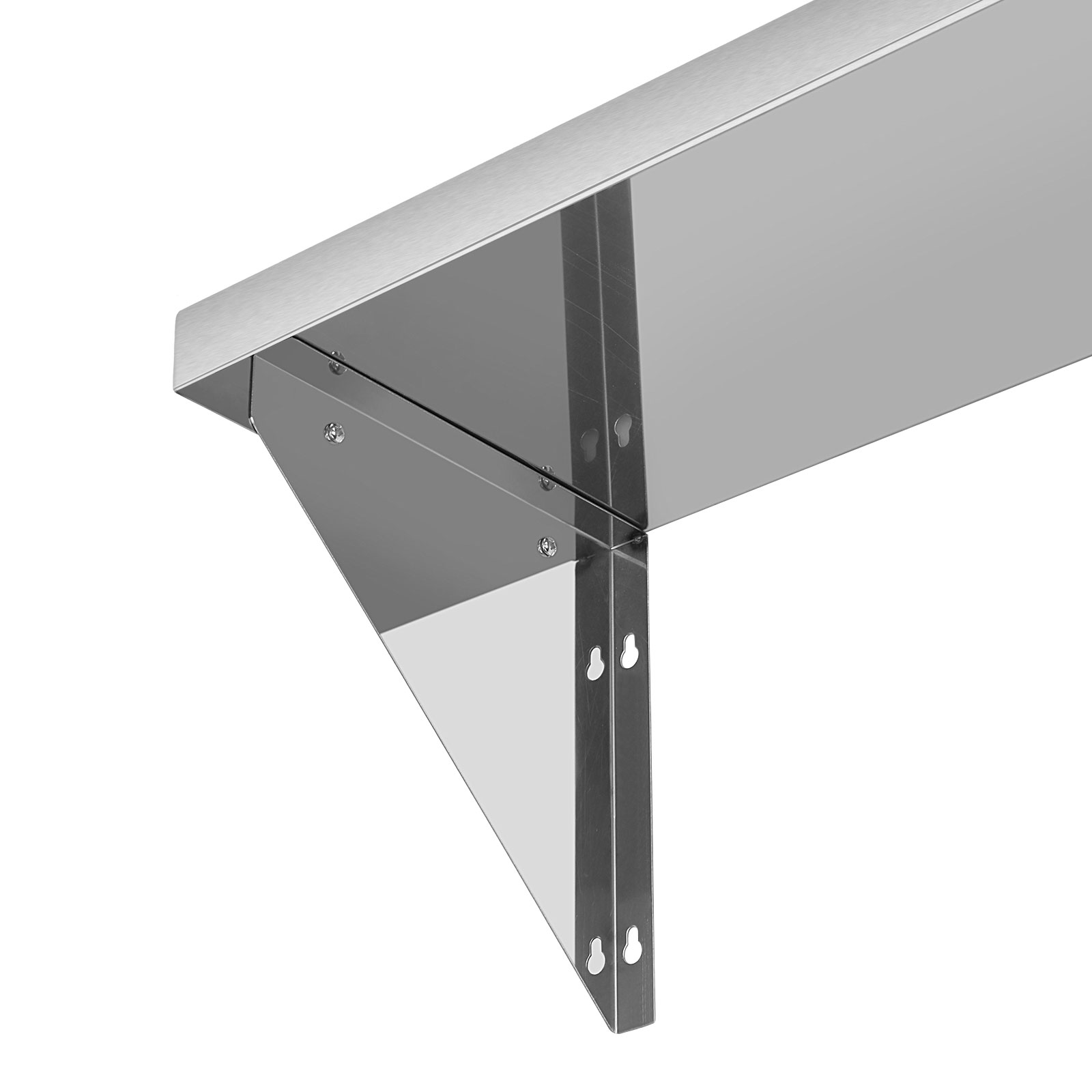 New 900x300mm Stainless Steel Wall Shelf Brackets Storage Rack Kitchen Catering Ebay