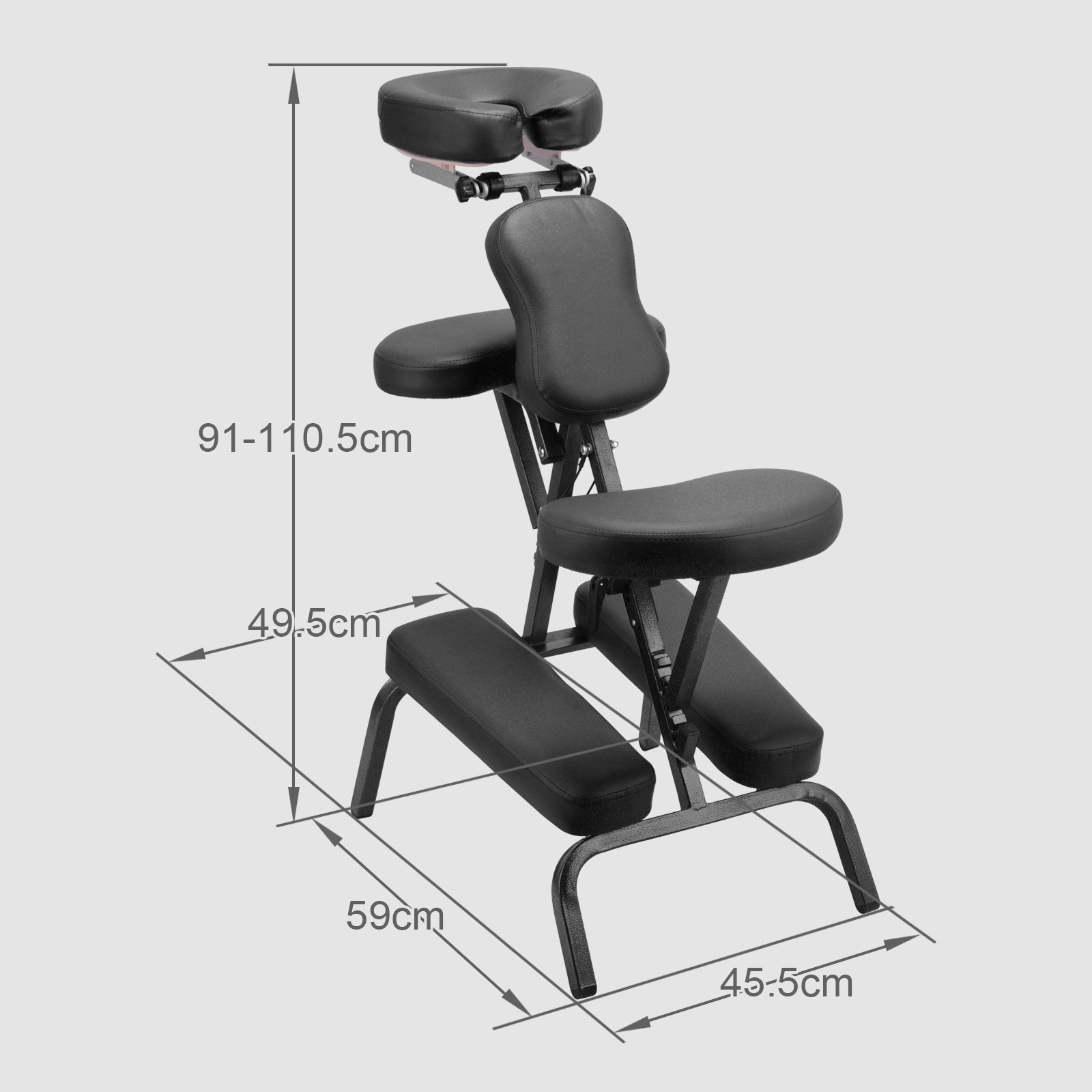 Indian Head Massage Chair Stool Beauty Tattoo Couch Portable