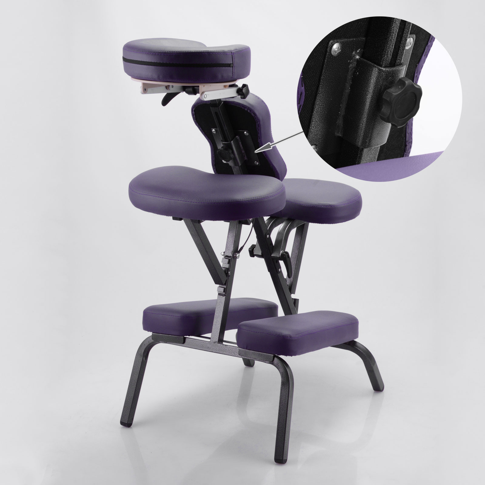 New lightweight portable head folding stool salon beauty therapy massage chair ebay - Portable reflexology chair ...