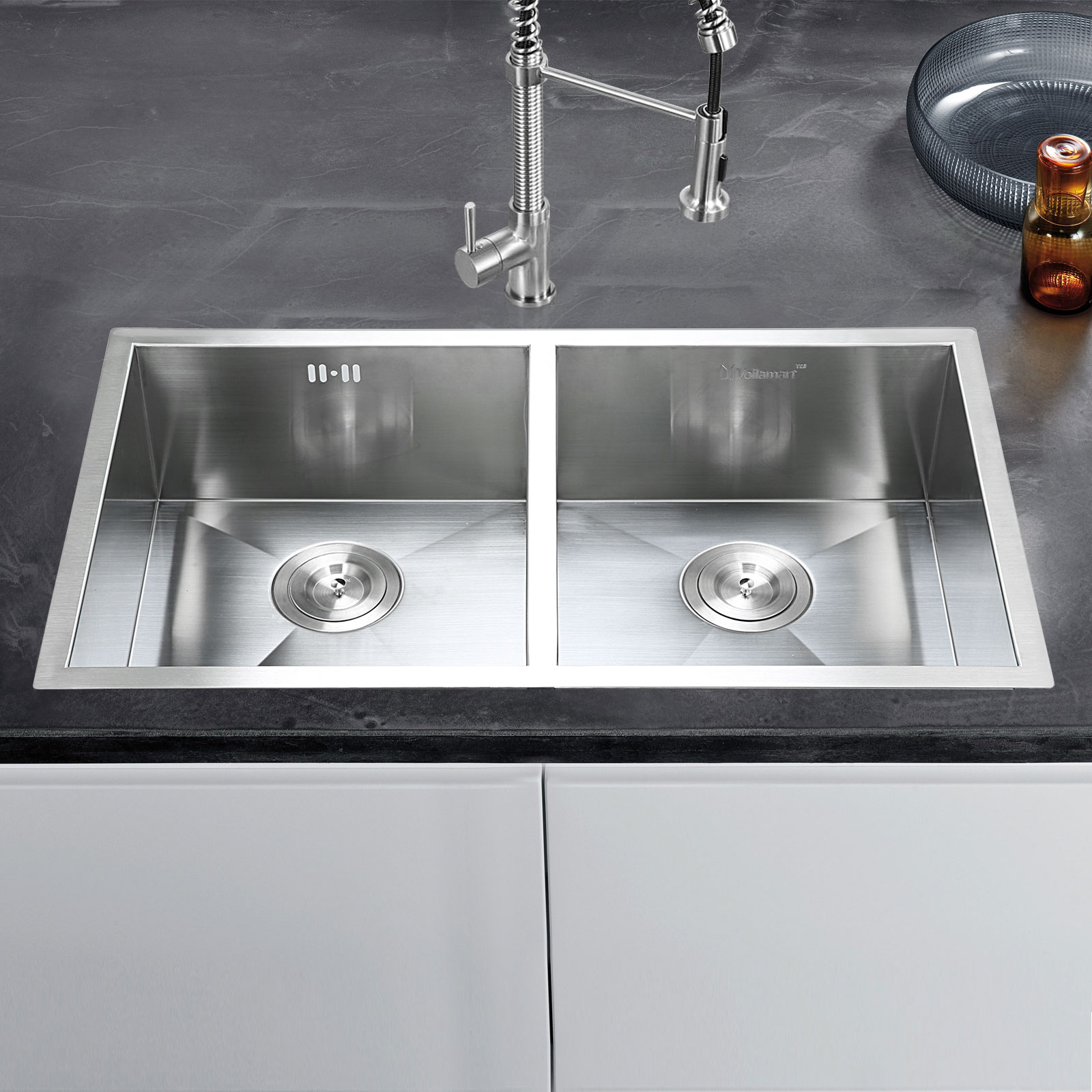 mercial handmade stainless steel kitchen sink catering double
