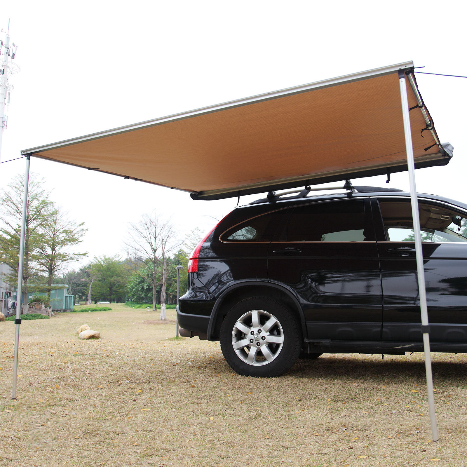Car Side Awning Roof Top Tent 2M x 2.5M Camper Trailer ...