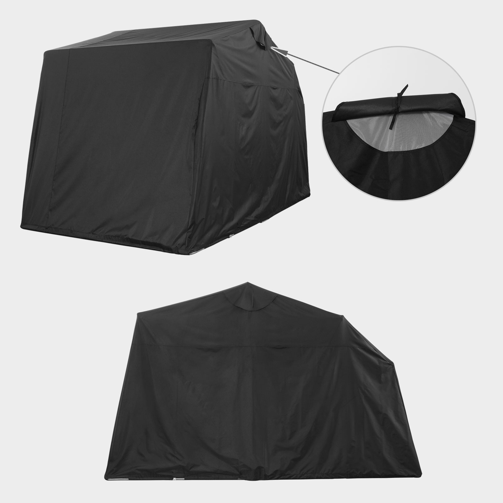 Motorcycle storage tent camping motor bike folding cover shed outdoor garage new ebay - Motorcycle foldable garage tent cover ...
