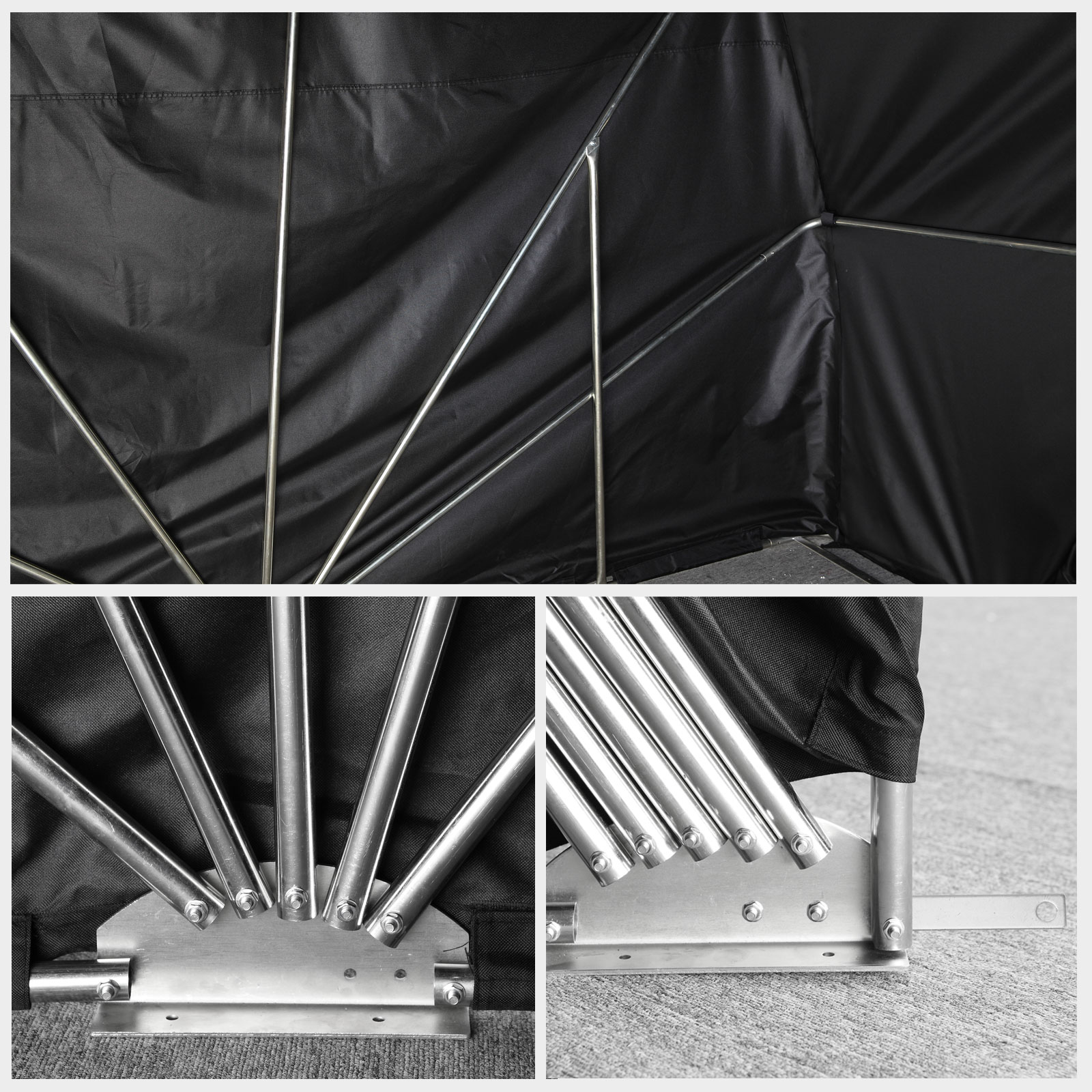 Motorcycle Bike Tent Shed Outdoor Cover Folding Garage
