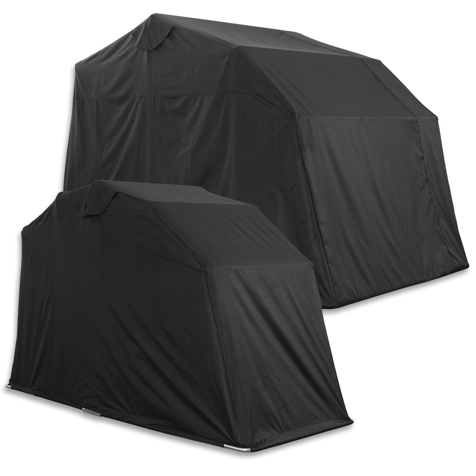 Outdoor motorcycle cover tent folding motorbike storage - Motorcycle foldable garage tent cover ...