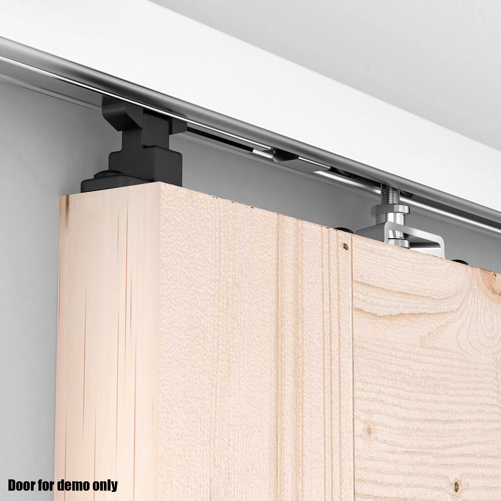 sliding door track 2m aluminum alloy sliding barn door hardware closet track 10325