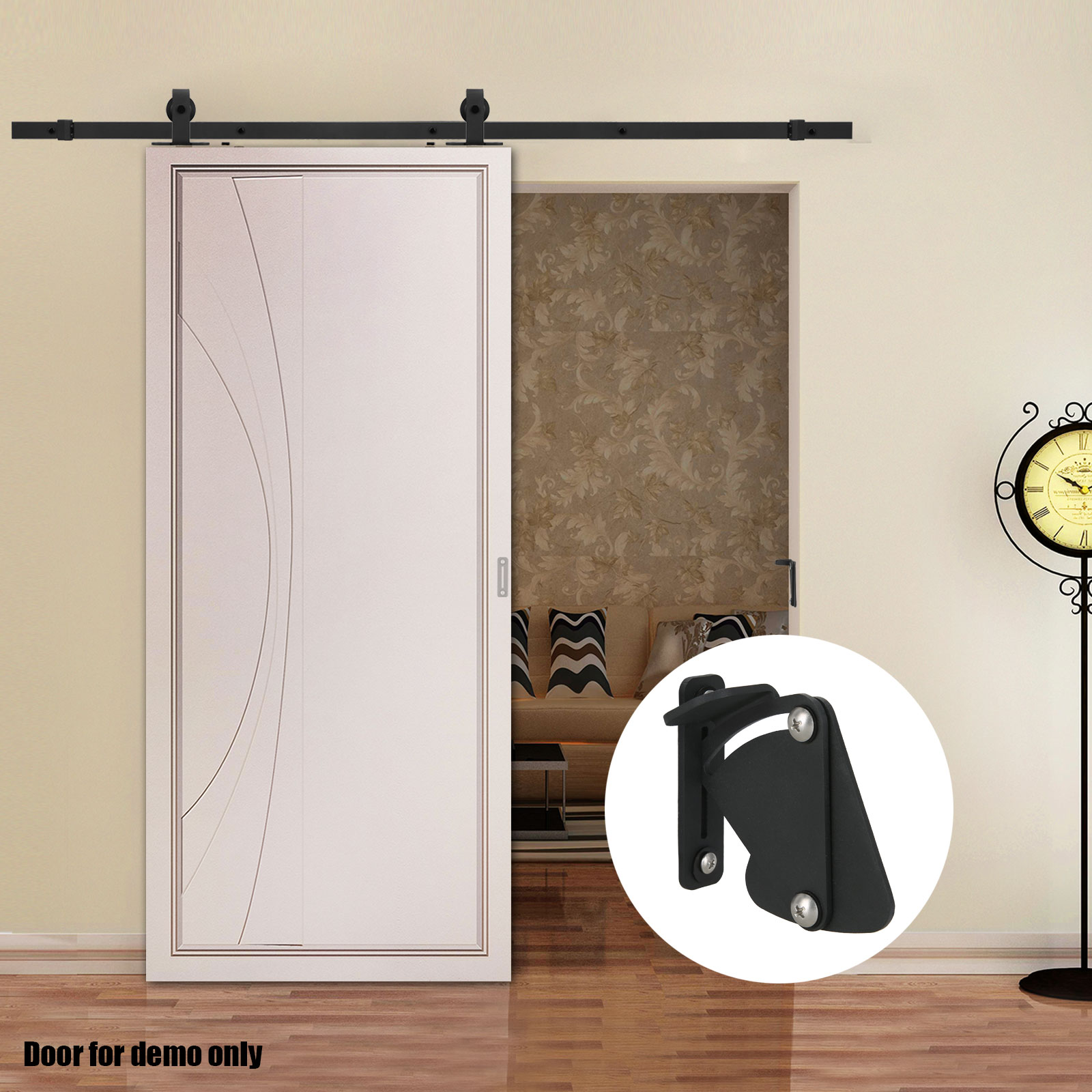 Elegant Office Barn Doors. 2m 4m Sliding Barn Door Hardware Track Set Home Office  Interior Closet