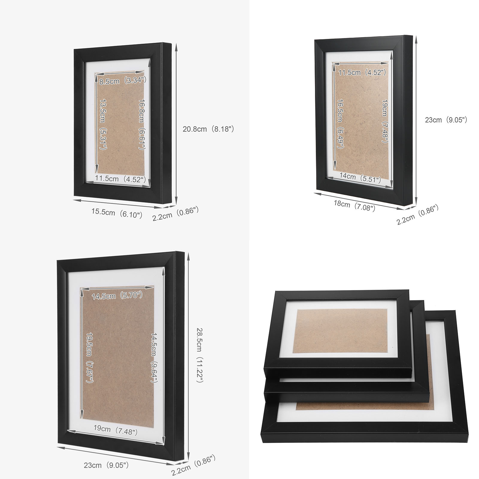 11 26pcs Photo Frame Set Hanging Picture Modern Display Wall Art ...