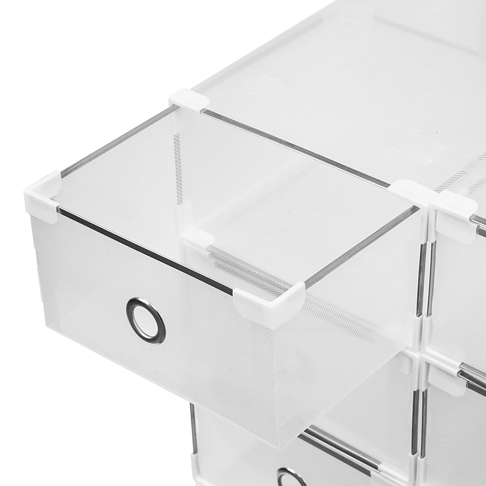 clear plastic boxes 20 plastic drawer shoe storage box clear stackable 11038