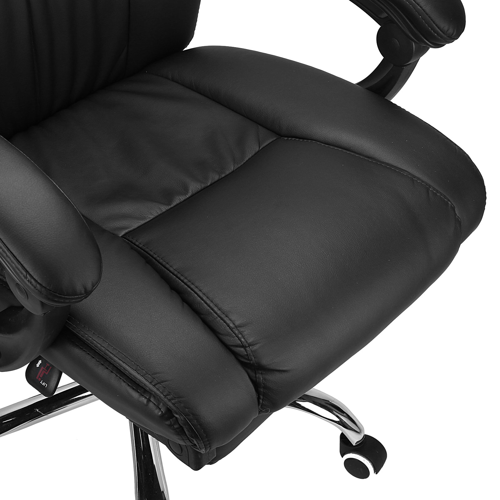 Executive fice Chair Ergonomic High Back Reclining Leather
