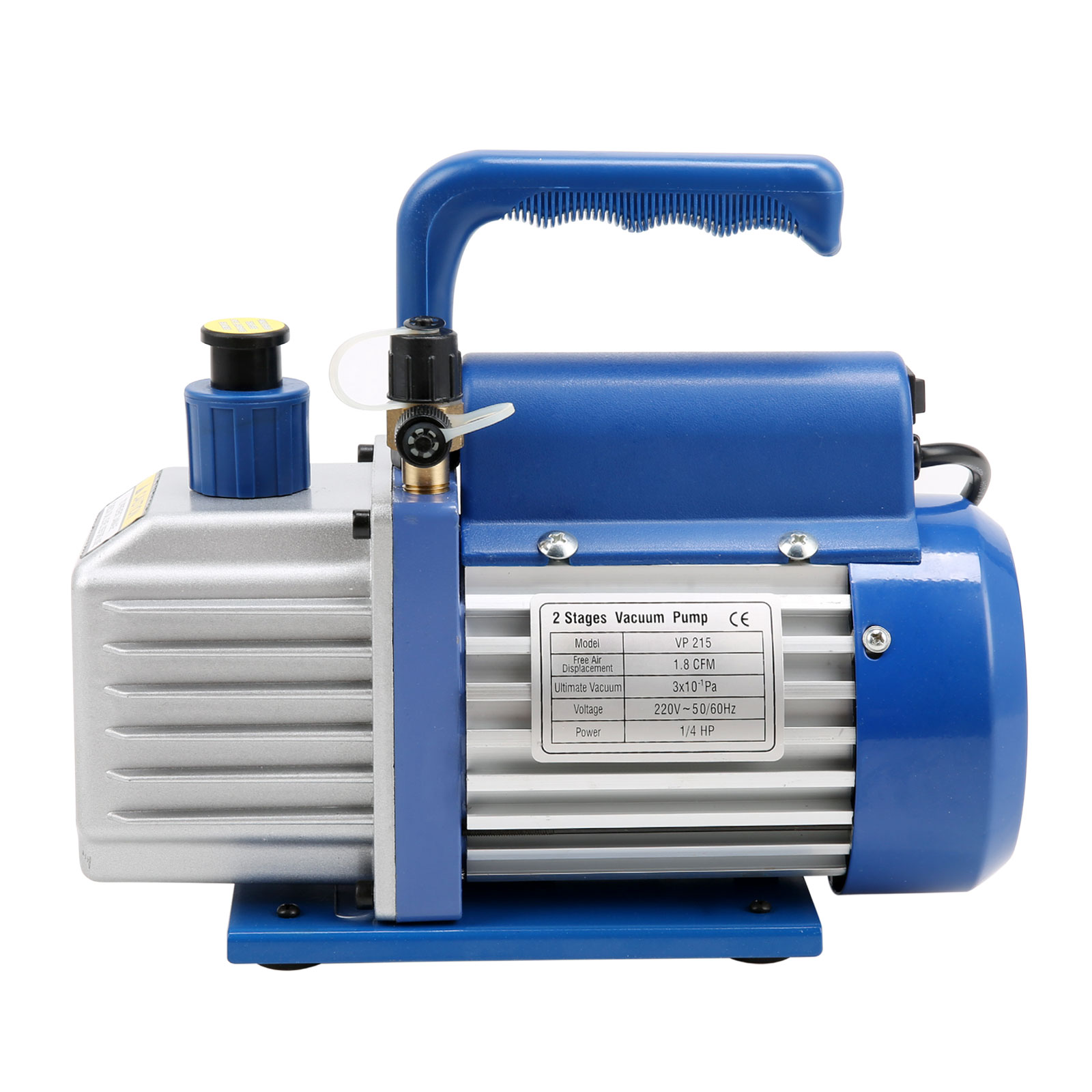 #1150AF 1.8CFM 1/4HP Vacuum Pump Two Stages Air Conditioning  Best 9223 Air Conditioning Melbourne Ebay photos with 1600x1600 px on helpvideos.info - Air Conditioners, Air Coolers and more