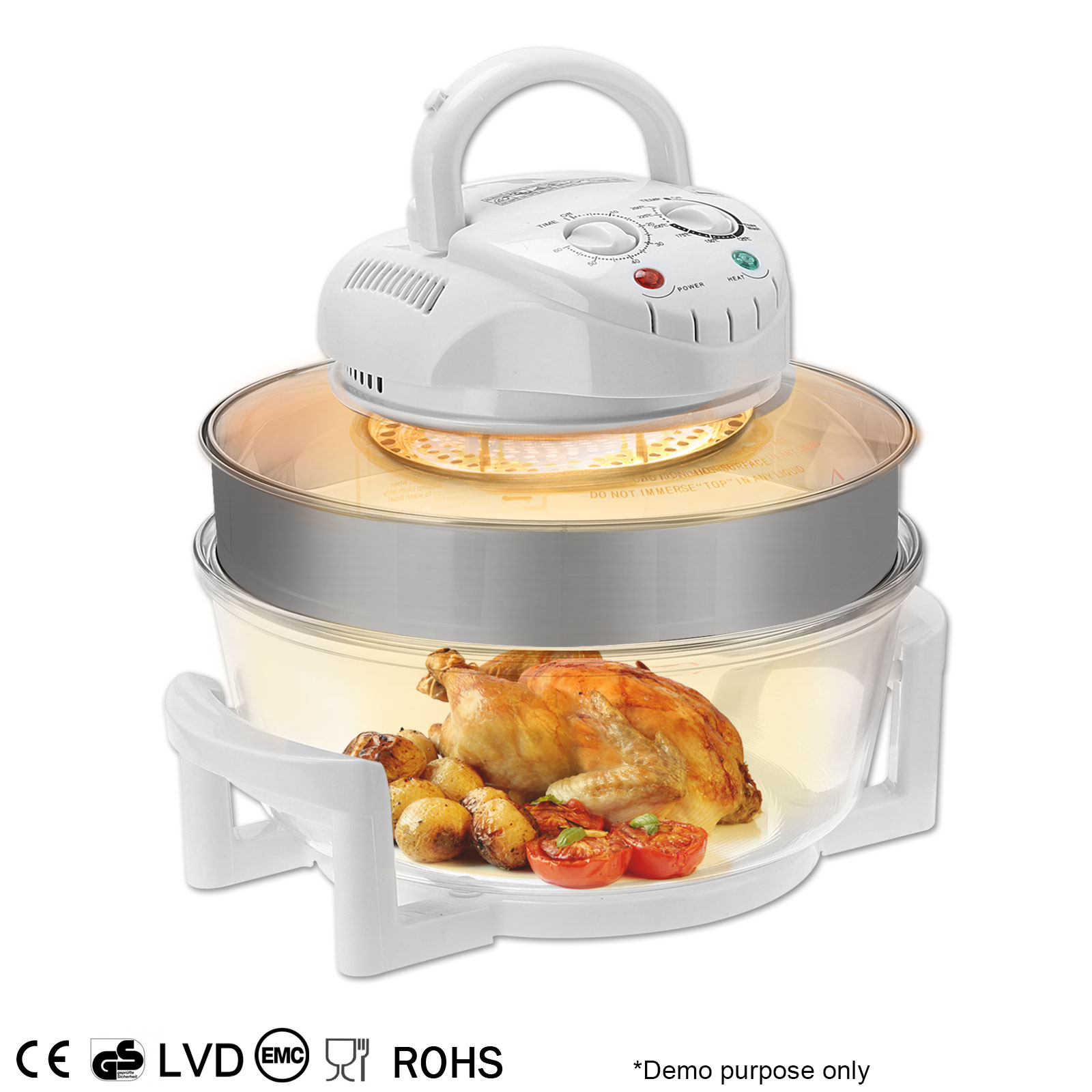 Air Fryer Lcd Digital Multifunction Convection Oven
