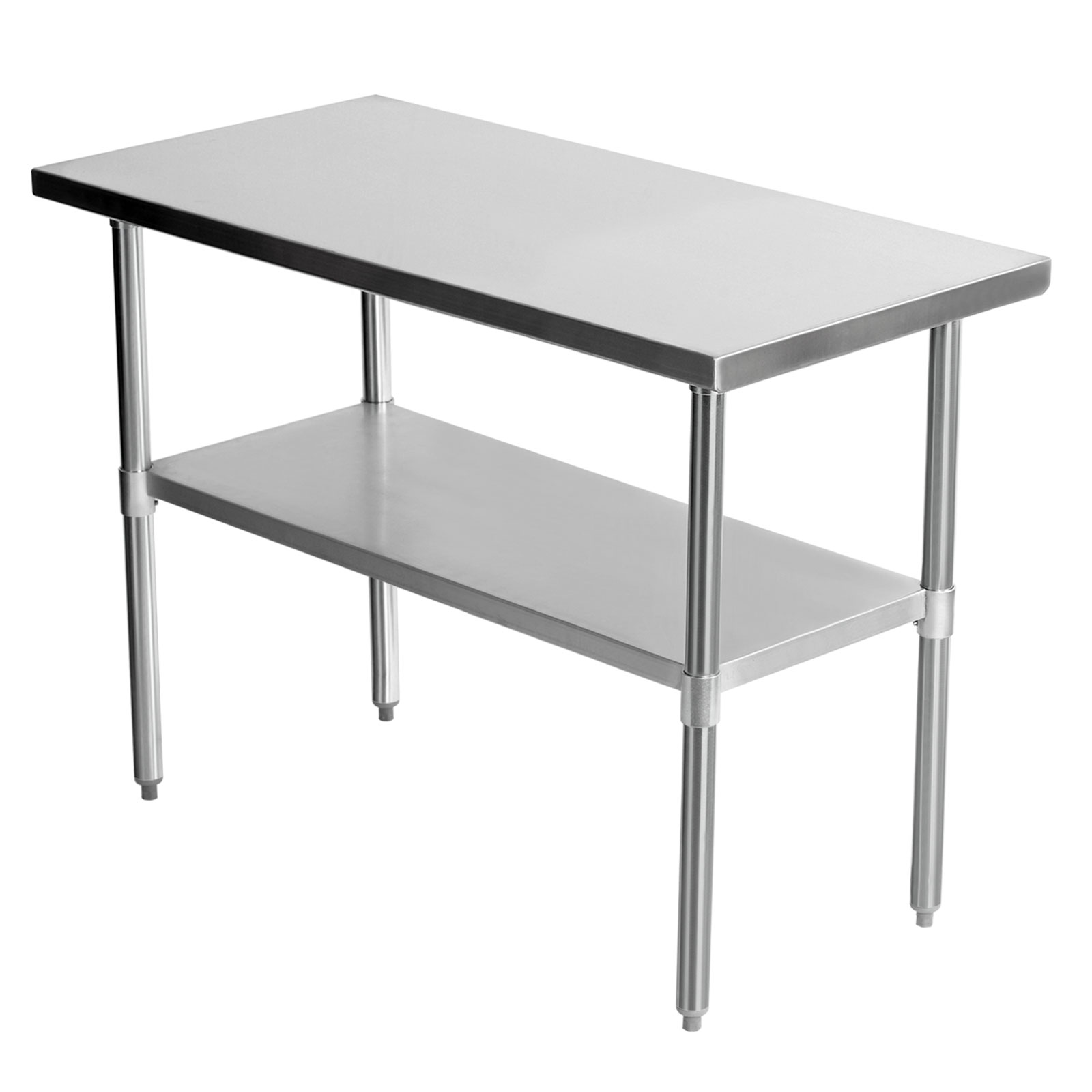 1220x610mm Stainless Steel Work Bench Catering Table ...