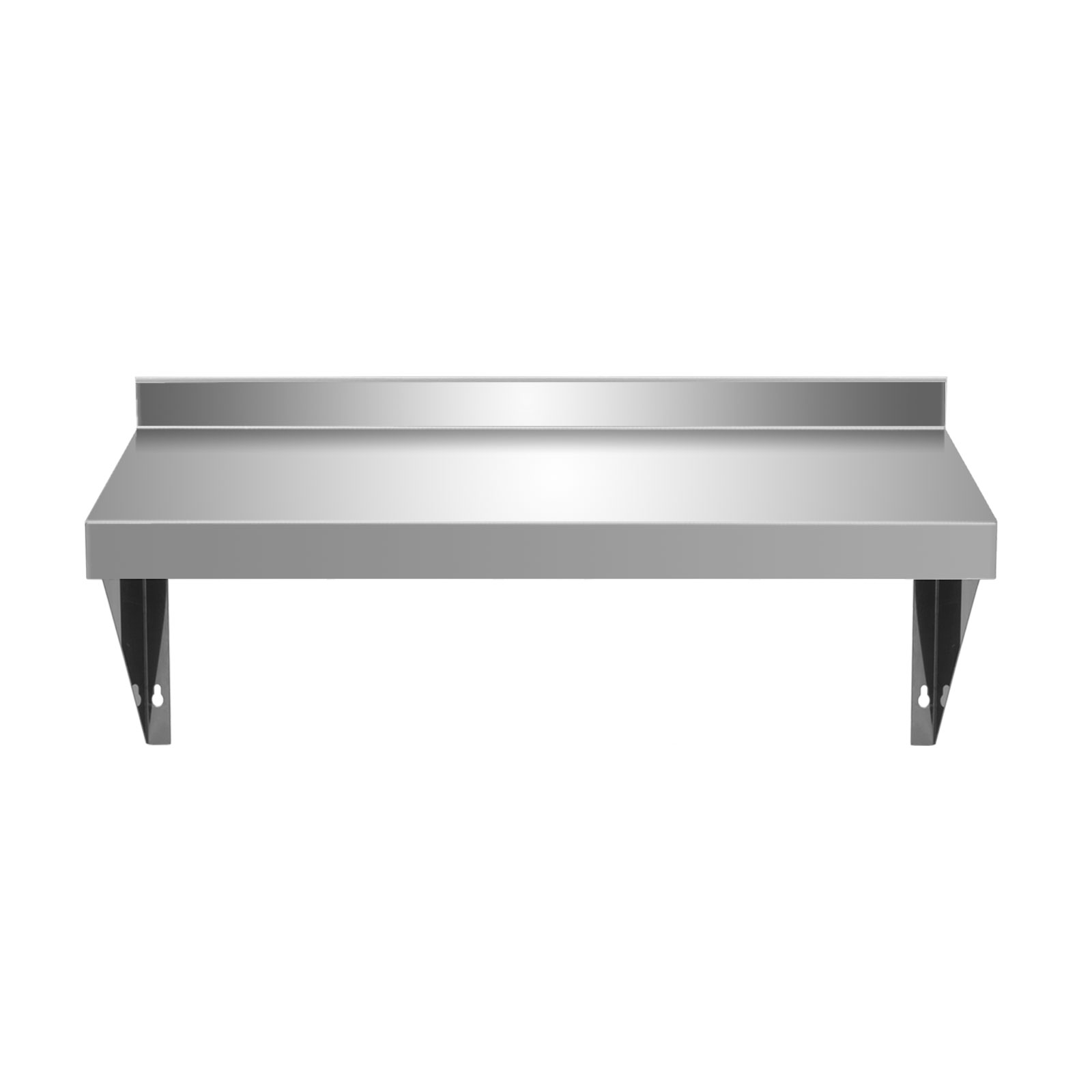 Commercial Stainless Steel Wall Shelf With Brackets
