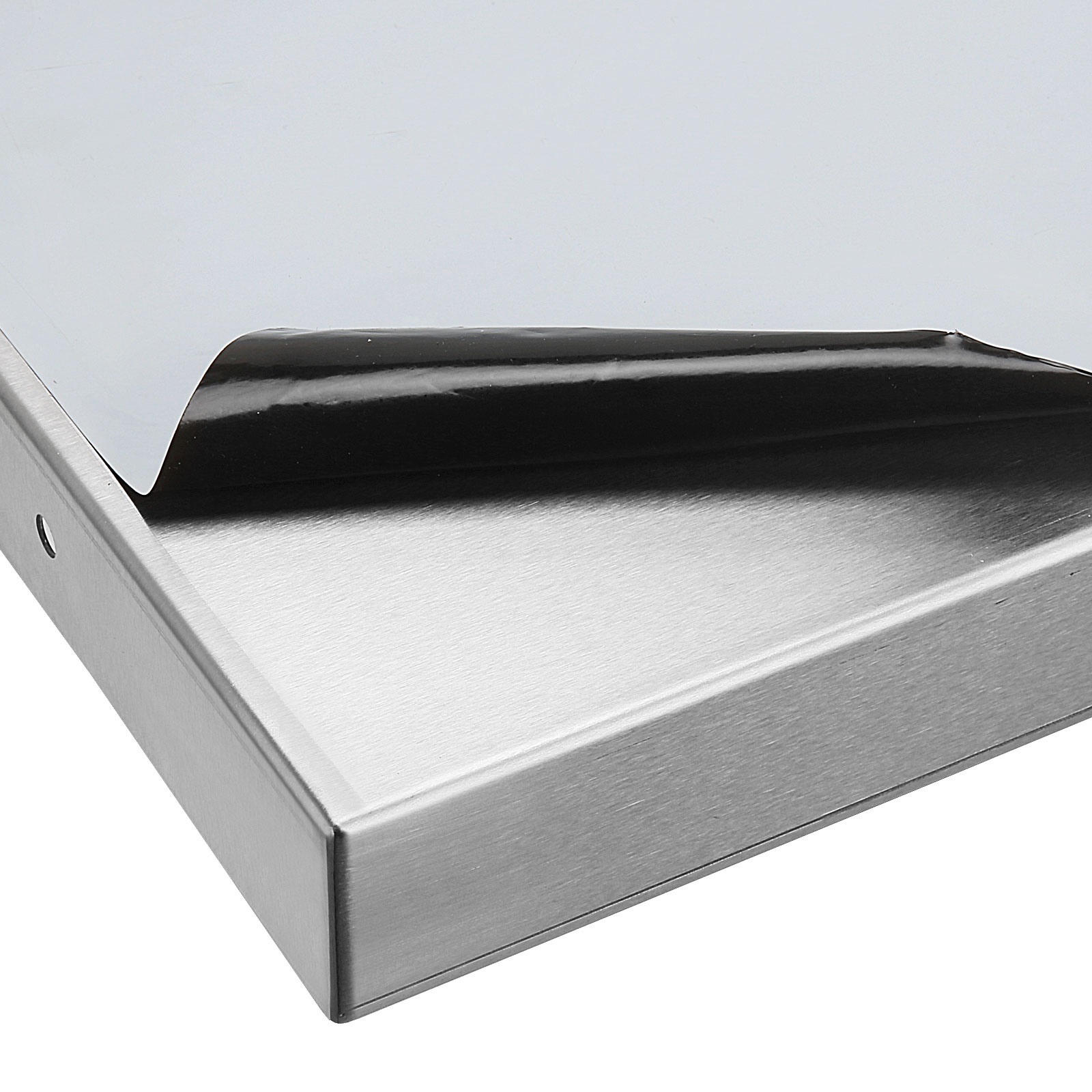 600 900 1200mm Stainless Steel Wall Shelf With Brackets