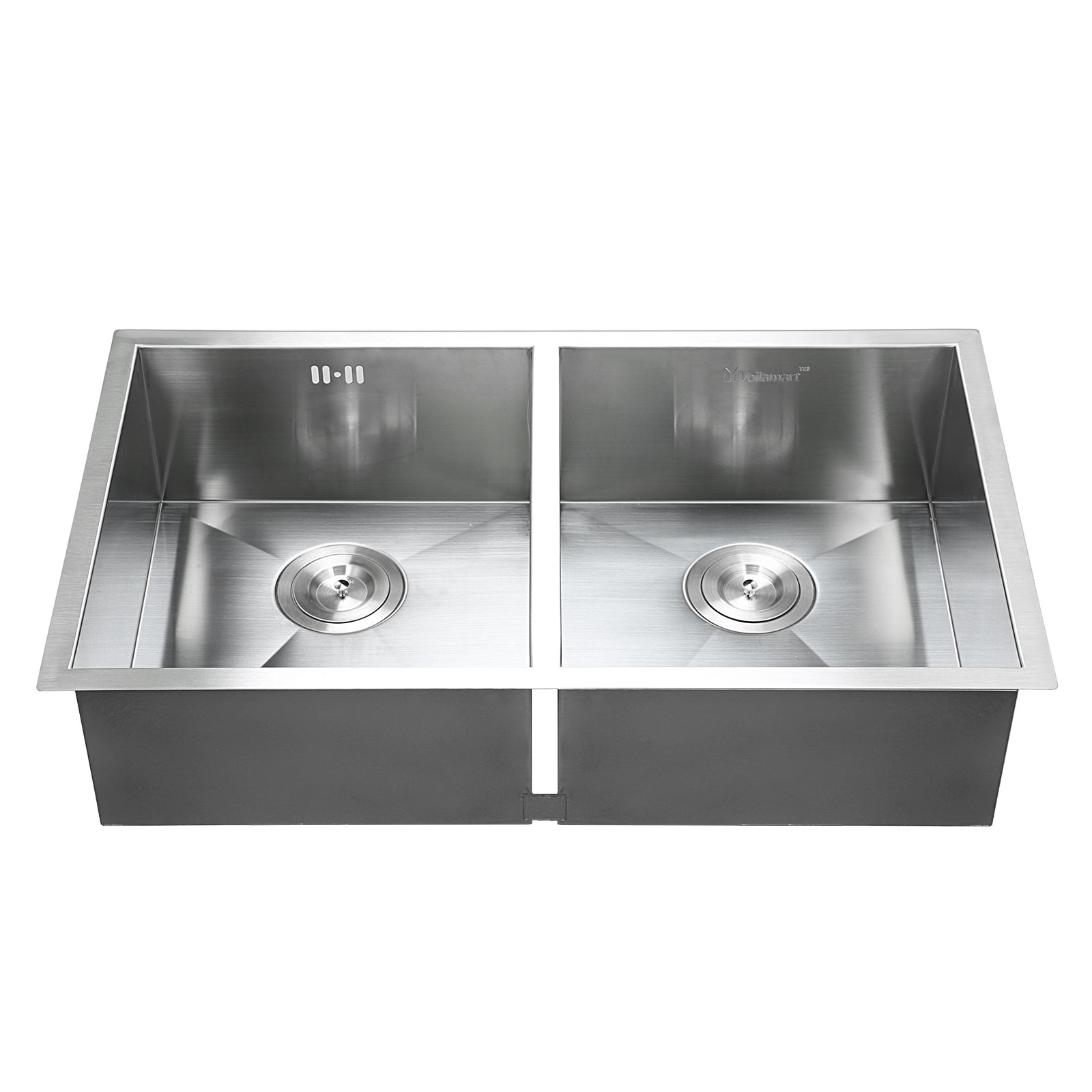 30 inch double bowl kitchen sink 30 quot x18 quot stainless steel kitchen sink 8982